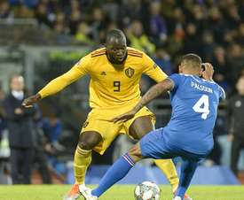 Belgium and Romelu Lukaku have joined France on top of the FIFA rankings. AFP