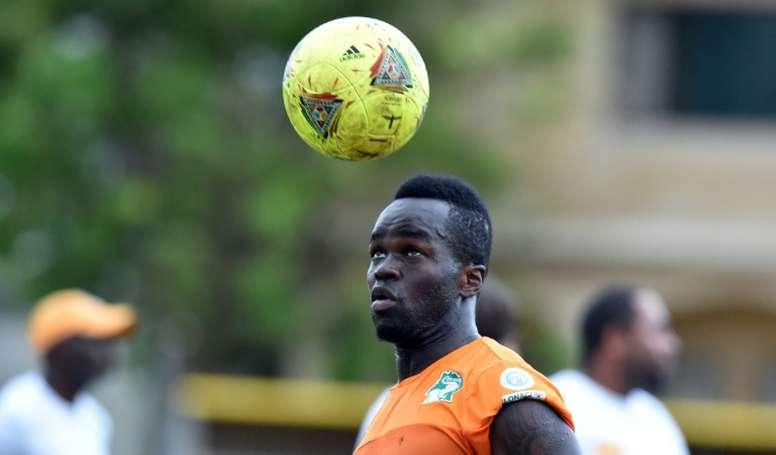 Cheick Tioté est décédé à l'âge de 30 ans. AFP