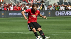Daley Blind has received high praise from Mourinho, following his exit. AFP