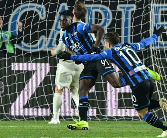 Holders Juventus dumped out of Coppa Italia by Atalanta. AFP