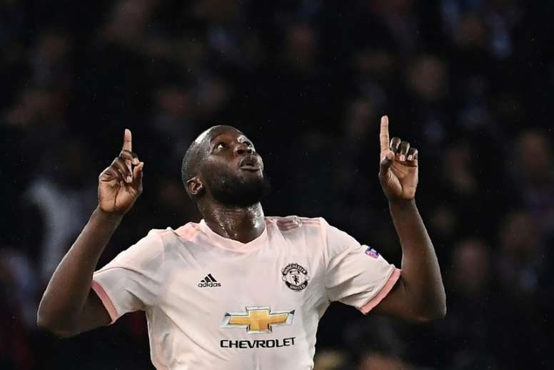 Inter are close to reaching a deal to sign Lukaku from Man Utd. AFP