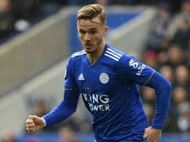 Maddison has recently been called up to the England squad. AFP