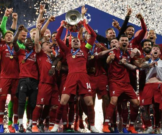Liverpool are the current holders. AFP