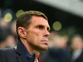 Poyet no se sentará en el banquillo del Girondins de Burdeos. AFP