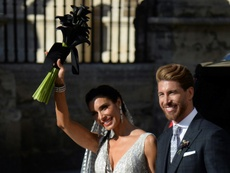 Pilar Rubio and Sergio Ramos' wedding was closely followed by the press. AFP