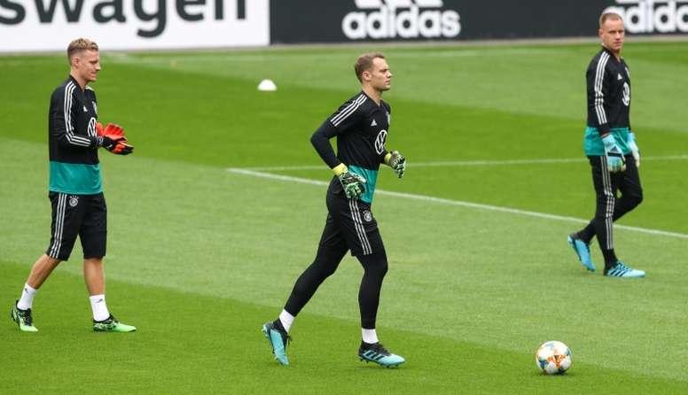 Neuer y Ter Stegen son los metas de Alemania. AFP