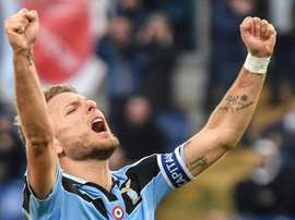 Lazio won 5-1. AFP