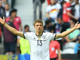 Thomas Muller said that playing San Marinos team had nothing to do with professional football. AFP