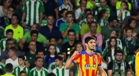 El Valencia le hizo un destrozo al Betis en el Villamarín. EFE/Archivo