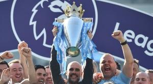 Premier League, suspensa pelo menos até 30 de abril. AFP
