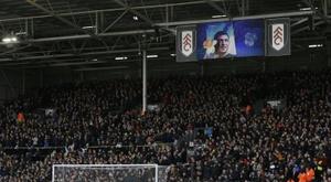 Fulham teve dois novos casos positivos. AFP