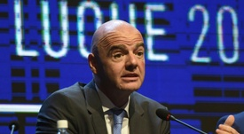 Infantino wants to modernise the game. AFP