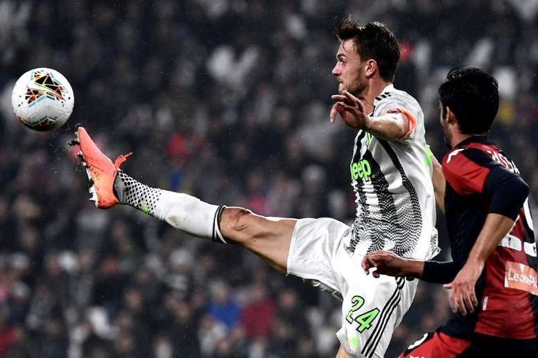 All Juventus players will undergo the test. AFP