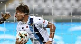 Immobile gostou da ideia de jogar com David Silva. AFP