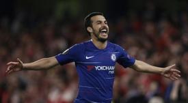 Accord total entre Chelsea et l'AS Roma pour Pedro. AFP
