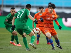 Brazilian hospitalised with coronavirus in China football 'first'. AFP