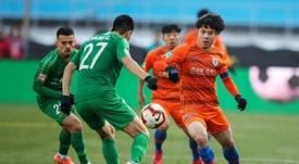 Brazilian hospitalised with coronavirus in China football 'first'. AFP
