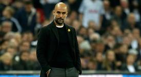 Guardiola tiene contrato con el Manchester City hasta 2021. AFP