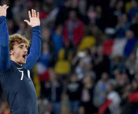 Griezmann scored one goal and gave one assist in win over Bolivia in Nantes. AFP