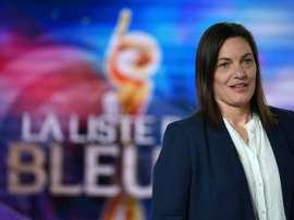 France coach Corinne Diacre has left out Katoto. AFP
