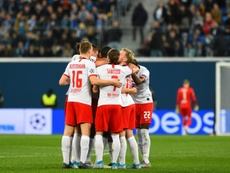 Leipzig close on Champions League last 16 with win at Zenit. AFP