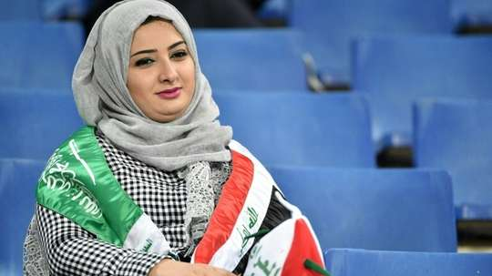 Women were only allowed buy tickets in family areas for the Italian Super Cup in Jed