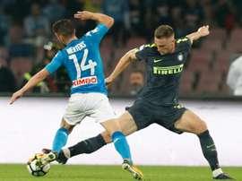 Skriniar prolongera avec l'Inter Milan. AFP