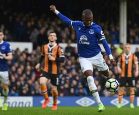 Enner Valencia passed his medical for Mexican side Tigres. AFP