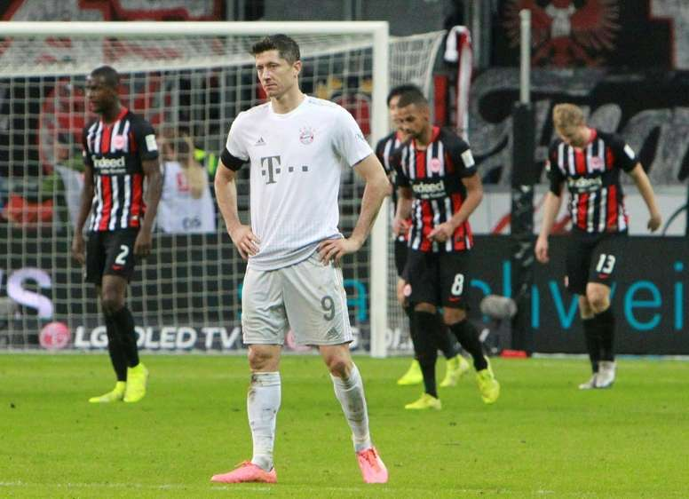 Bayern's turning point, Haaland, coronavirus: The Bundesliga season in pictures