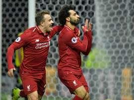 Compos probables Liverpool-Watford. AFP