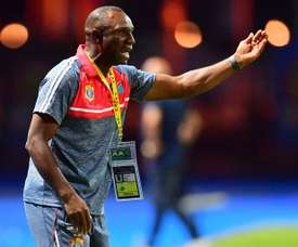 DR Congo coach Florent Ibenge is hoping to win the African Nations Championship a second time.AFP