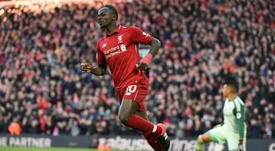 Sadio Mane is one of 34 nominated for the 2018 African Play of the Year award. AFP