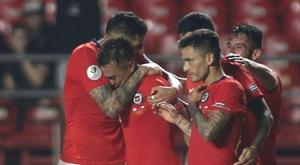 Vargas at the double as Chile rout Japan