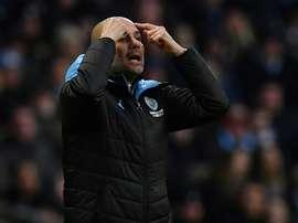 Pep renuncia a Premier e admite outra meta na temporada. AFP