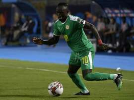 Sadio Mané reivindicou um maior protagonismo do futebol africano. AFP