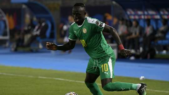 Sadio Mane and Senegal are looking to win the Africa Cup of Nations for the first time. AFP