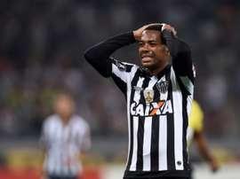 Robinho sigue con su carrera en Turquía. AFP