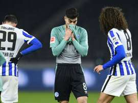 Schalke hit 30 matches without win. AFP