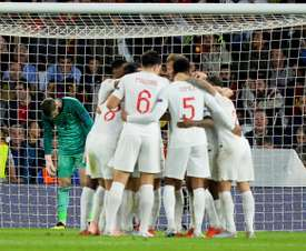 Spain were defeated by England on home turf. AFP