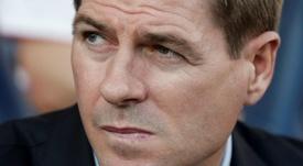 Gerrard sigue avanzando en la competición. AFP