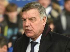 Allardyce praised striker Cenk Tosun. AFP