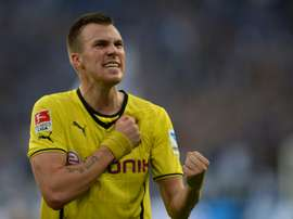 Kevin Grosskreutz, an unused squad member when Germany won the 2014 World Cup in Brazil, signed a contract until June 2018 with Stuttgart, who lie 15th in the Bundesliga table