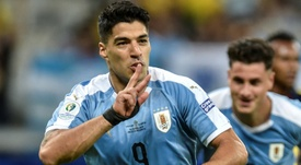 El gran motivo de la mejora física de Suárez. AFP