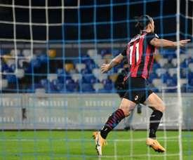 Zlatan Ibrahimovic has been AC Milans talisman since returning in January. AFP