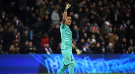 Navas has never lost a Champions League knockout tie. AFP