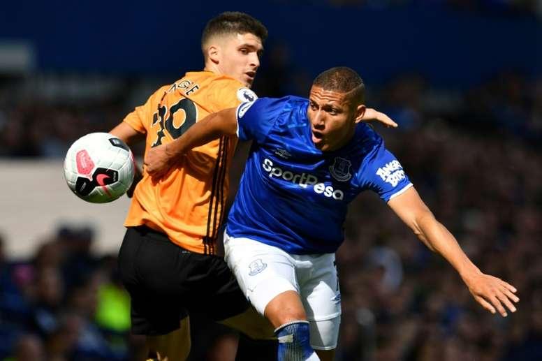 Everton vient à bout de Wolverhampton à la maison. AFP