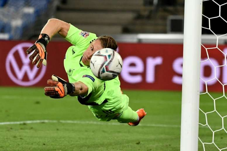 Germany were held to a 1-1 draw away to Switzerland in Basel. AFP