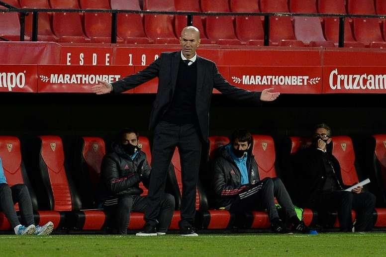 Real Madrid won 1-0. AFP