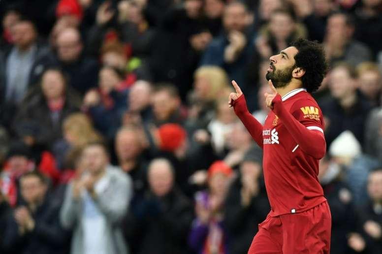 Salah também quer estar nos Jogos Olímpicos. AFP