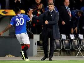 Les Rangers recalent une offre de Lille pour Morelos. afp